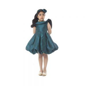 Backless Frill Dress