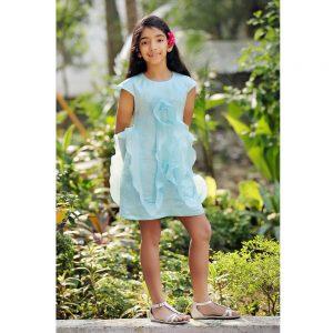 Blue Stream Dress