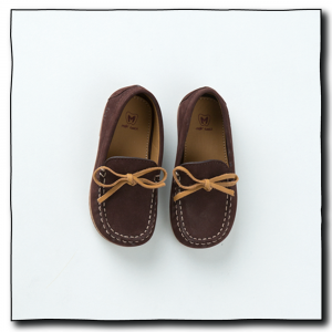 Dark Brown Boys Loafers