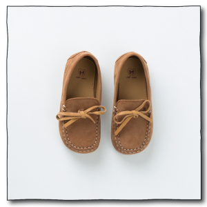 Tan-Brown Boys Loafers