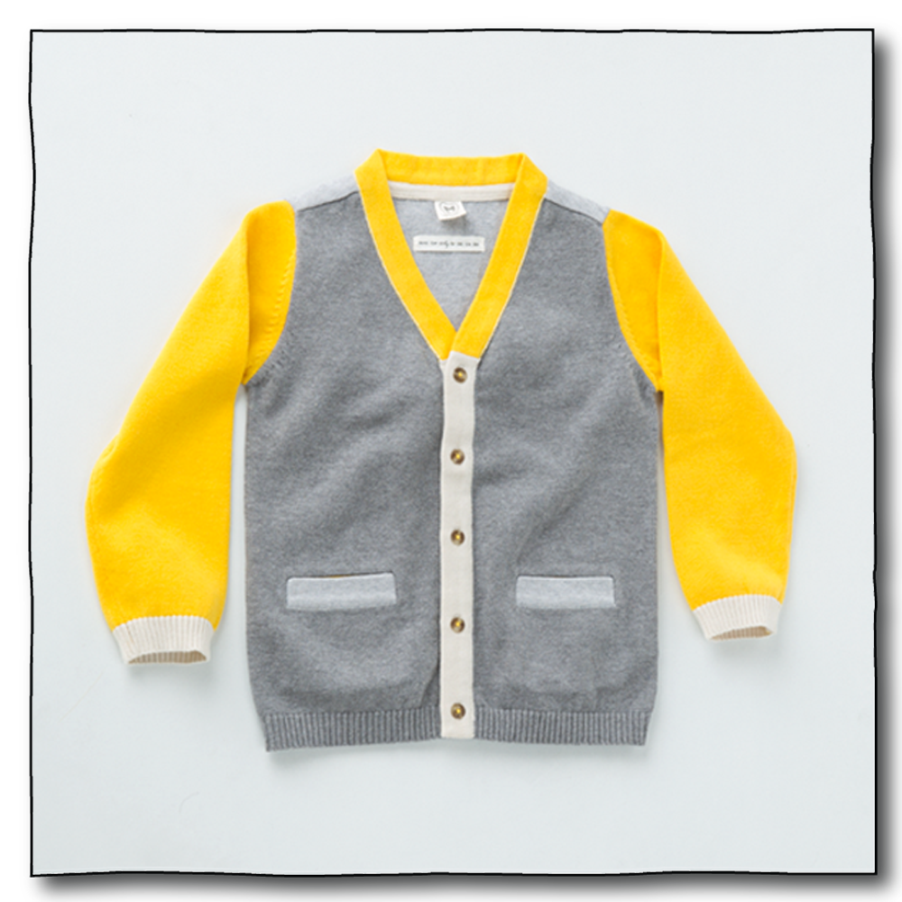 Yellow Boys Michu Cardigan