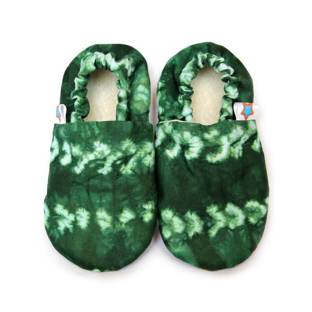 GREEN SHIBORI