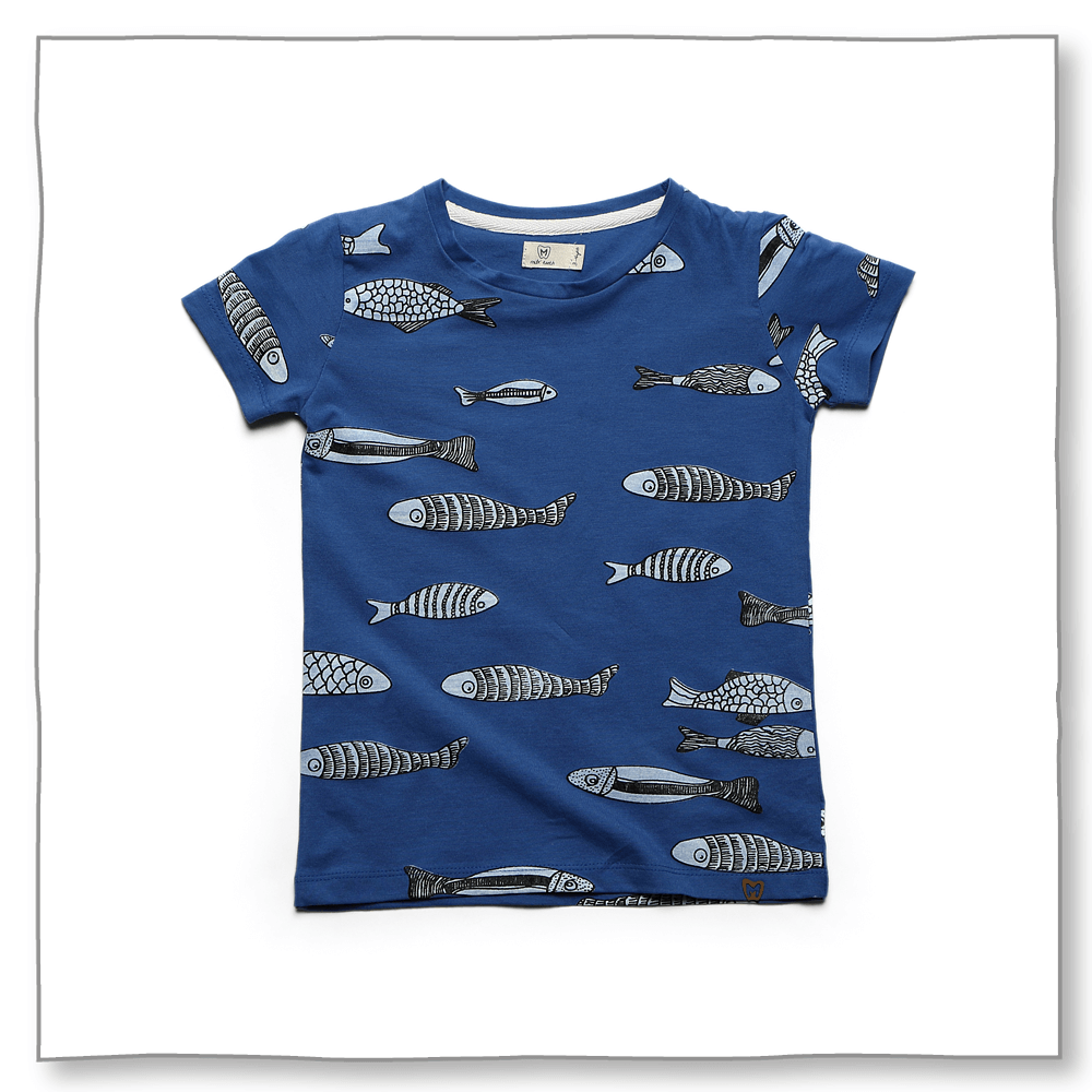 Marine Friends Tee Blue