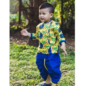 Mor Sangeet Kurta Dhoti Set Infant Boys