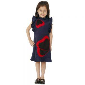 Pansy Ruffle Dress