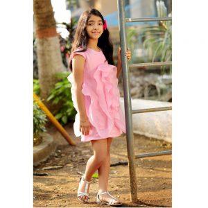 Pink Stream dress