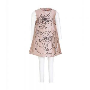 Russian Rose Shift Dress