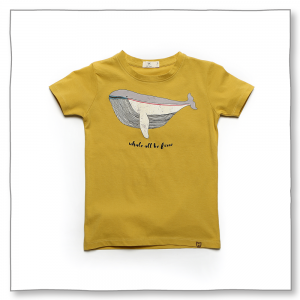 Sea Breeze Tee Mustard