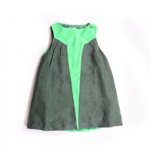 Star Dress Green
