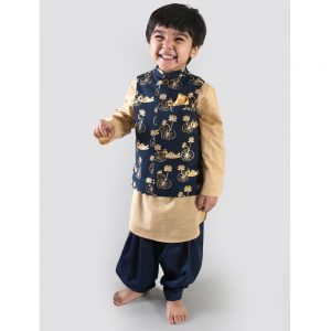 The Bengal Tiger 3 Pc Nehru Jacket Pathani Set