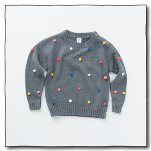 Grey Unisex Juggling Ball Sweater