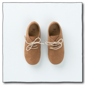 Tan-Brown Unisex Oxford Shoes