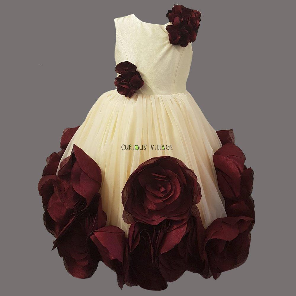 Cream Bed Roses