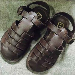 Brown Burnish sandals