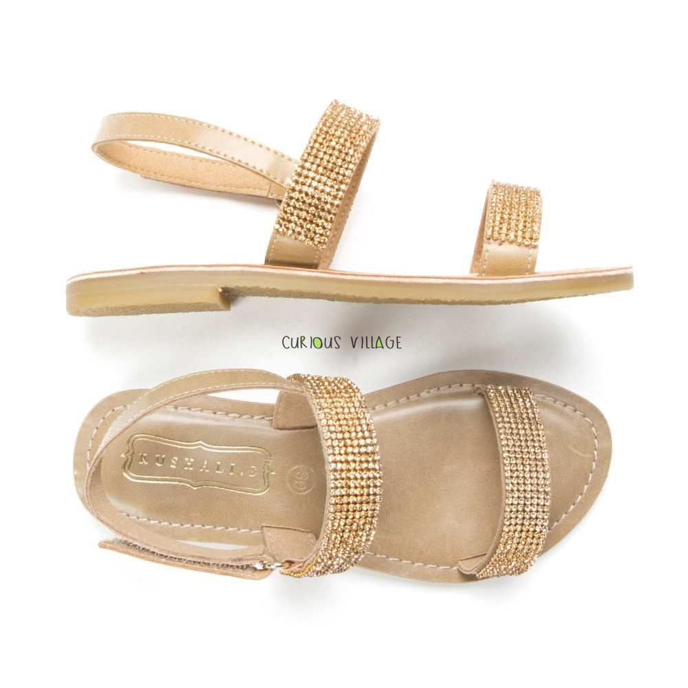 Champagne Diamonds Sandals