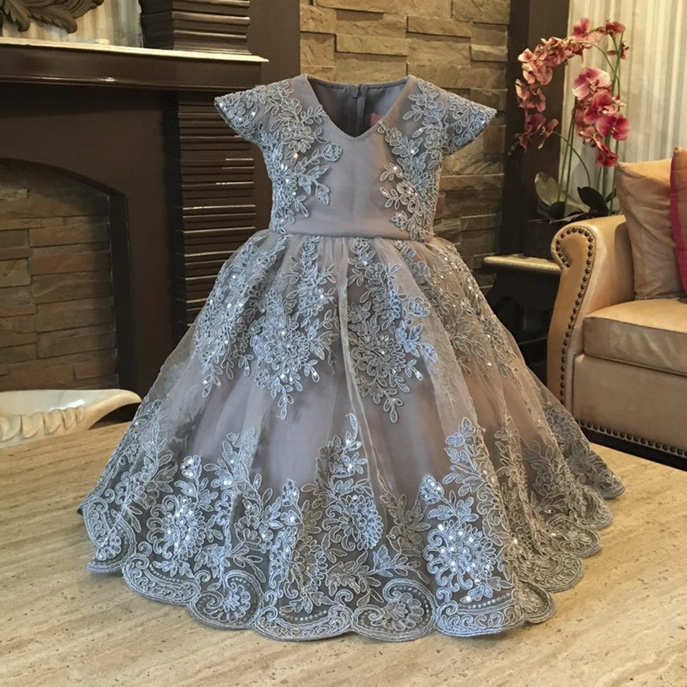 Grey Chandelier Dress
