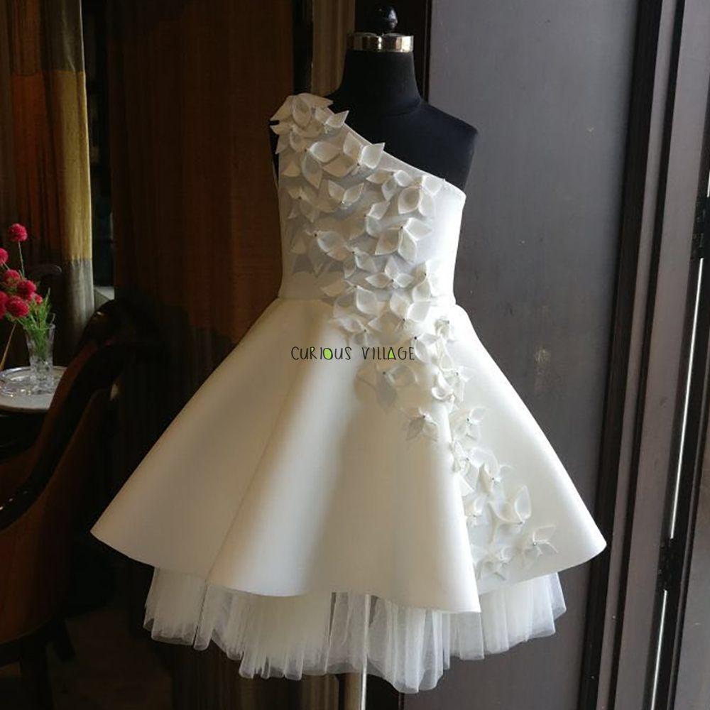 White petal dress