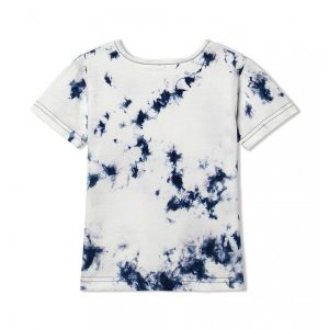 WHITE NAVY PARAM T-SHIRT