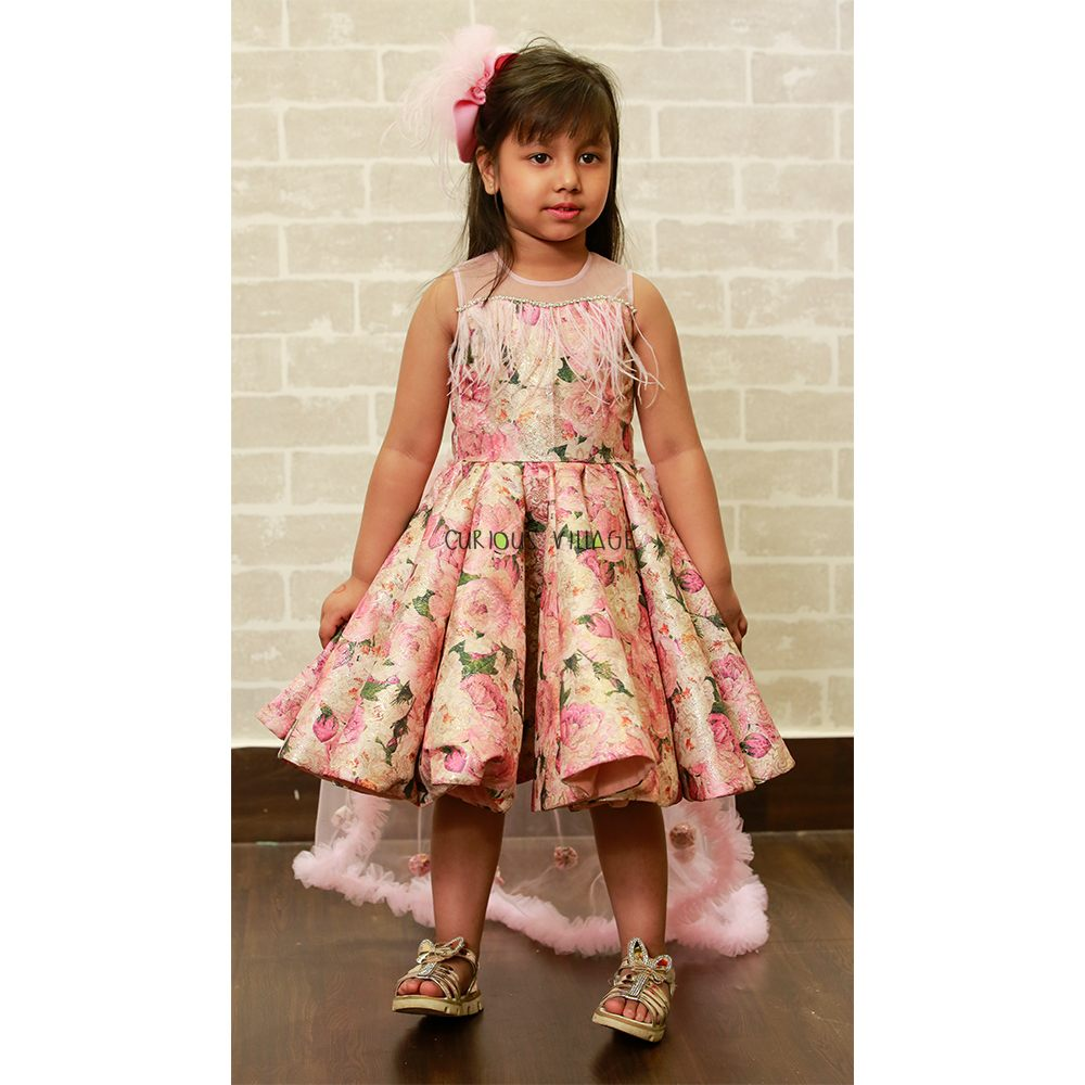 Pink Gold Frock Trail