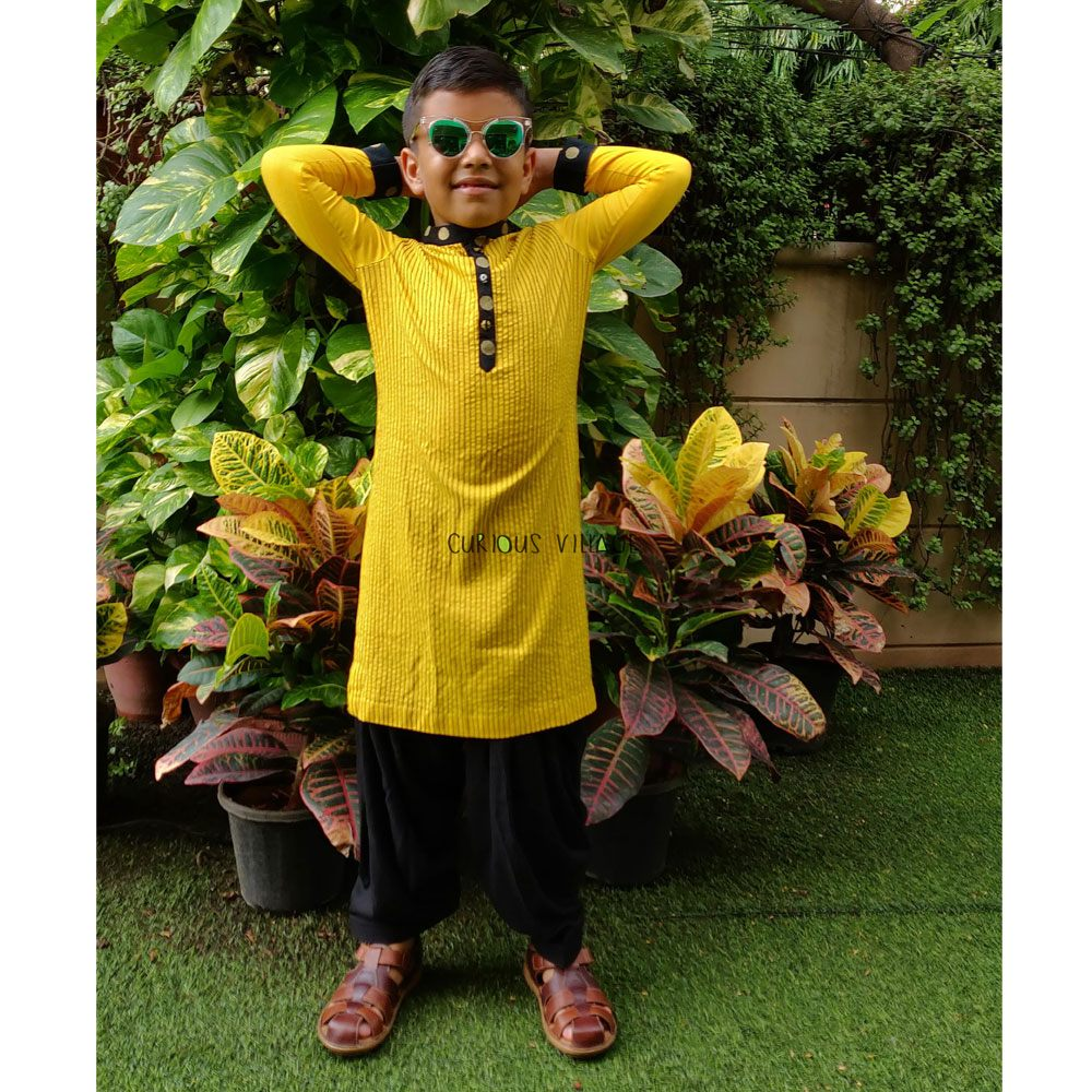 Yellow Kurta & Salwar