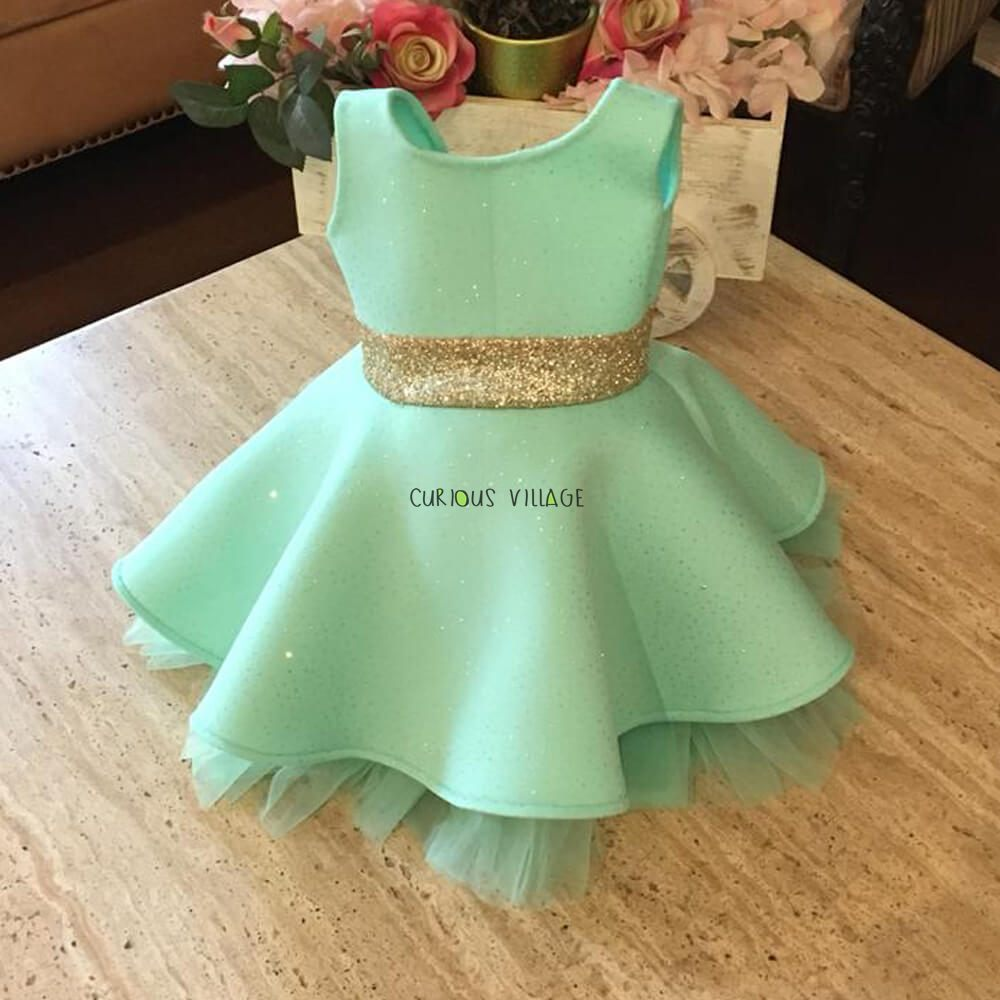 07ae20fc6e3b Shop Ice Blue off shoulder flamingo sequins dress Online - Curious ...
