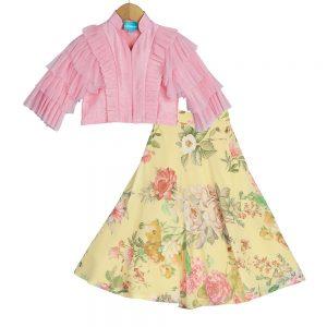 0938f22a75f Traditional Lehenga Sharara For Kids