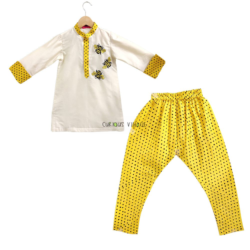 Honey bee kurta Pyjama